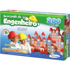 Brincando de Engenheiro – 200 Peças