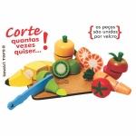 Kit frutas&legumes com corte