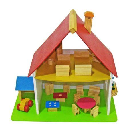 casinha_de_boneca_chale_com_garagem_wood_toys