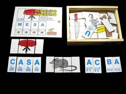 1 – Alfabeto divertido ( Carimbras )
