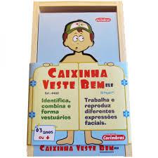 CAIXINHA VESTE BEM/ELE