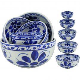 Conjunto de tigelas em porcelana Monte Sião